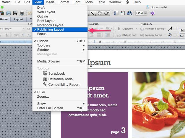 How to Remove Pages From a Newsletter Template in Word - free newsletter templates for microsoft word 2007