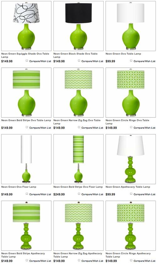 Gl Table Lamps In 75 Colors Modern Design From Lampsplus Shades D Tiles Pinterest Lamp And