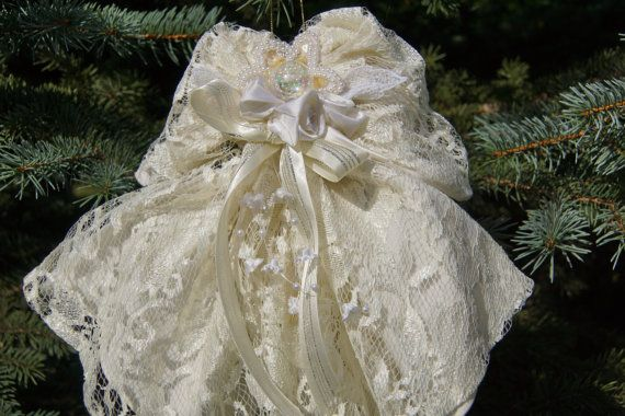wedding crafts dress ornament from styrofoam