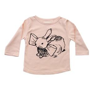 Bunny print tee