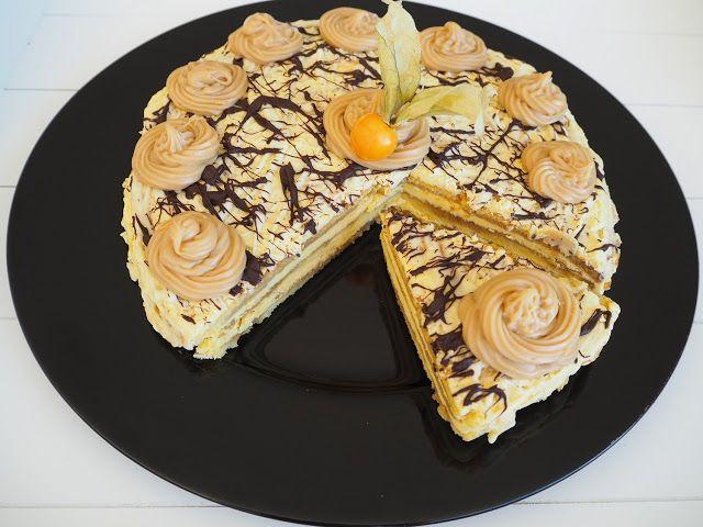 SMAKI FRANCJI współczesna kuchnia francuska: TORT MOKA