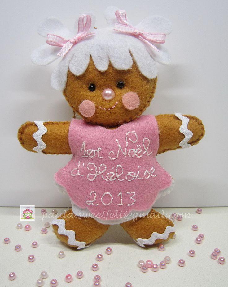 ♥♥♥ O 1° Natal da Heloíse... para mais tarde recordar... | by sweetfelt ideias em feltro