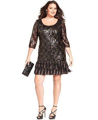 ... Dresses - Plus Sizes - Macy's | fashion...special occasion dresses