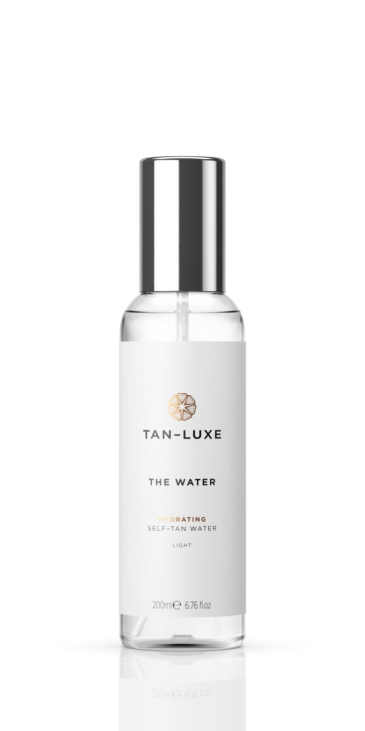 Best fake tan: Tan Luxe The Water, £30