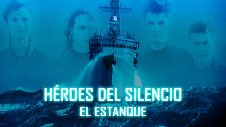 Héroes Del Silencio - El Estanque ✓ (El Mar No Cesa) Letra