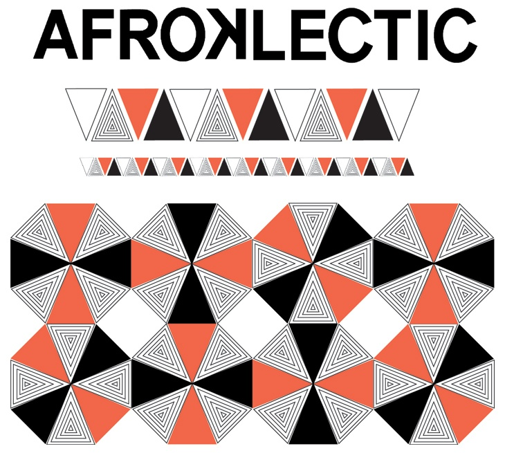 The Afroklectic visual language