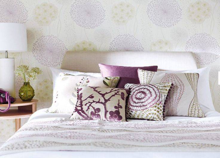 JUNIPER EMBROIDERIES This sophisticated selection of embroideries encompasses a striking leaf ogee in contrasting tones, a stitched curling fern design in a panel stripe and an exquisite leaf and bud motif in a combination of tantalising colours. All designs are embroidered onto softly coloured linen grounds.