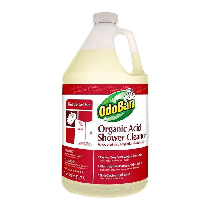 OdoBan 1 Gal. Organic Acid Shower Cleaner-Eco friendly