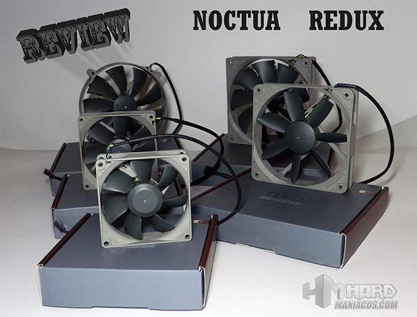 En esta review analizamos 5 ventiladores Noctua Redux junto a dos kits de accesorios para ellos. Estos ventiladores son silenciosos y tienen un nuevo diseño