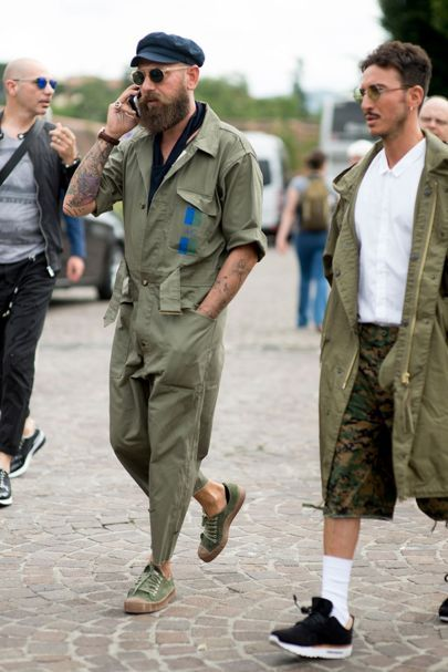 Street style from Pitti Uomo S/S '17 from our photographers and editors, out spotting trends on the pavements