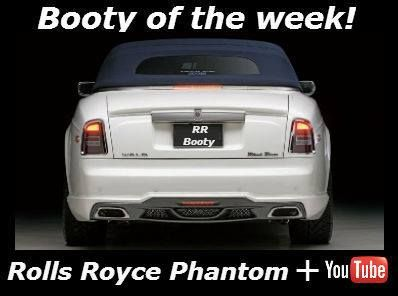 Rolls Royce Phantom Coupe Booty. The way to drive home on a Monday ,I wish! + great accompanying video > http://buff.ly/Xoy1wP