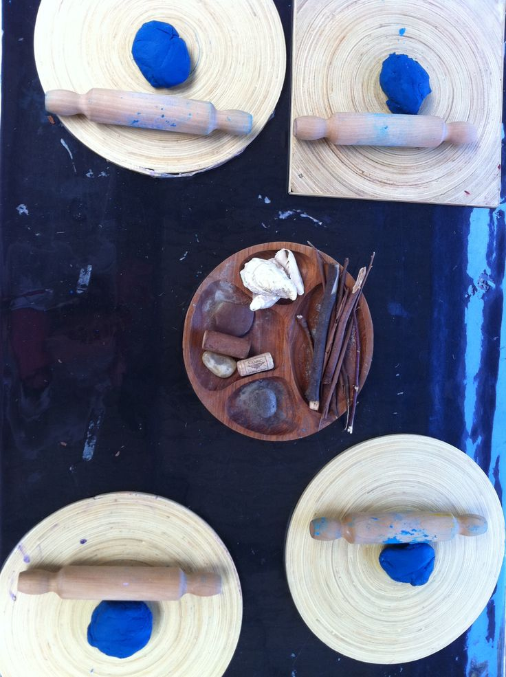 Play dough using natural materials