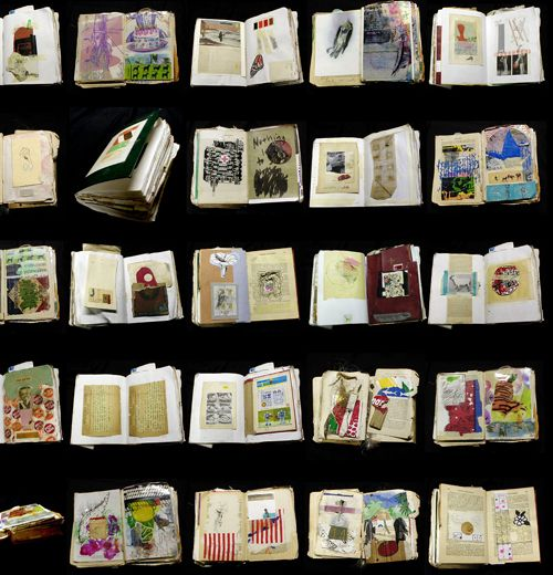 The Sketchbook Project... (I so want to do this, or have students do this!)