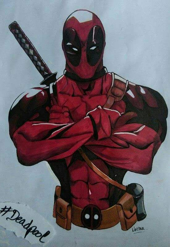 Deadpool dessin dessin - Dessin deadpool ...