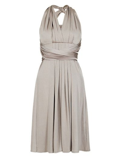 Multiway Bodice Skater Bridesmaid Dress ONLINE ONLY | M&S