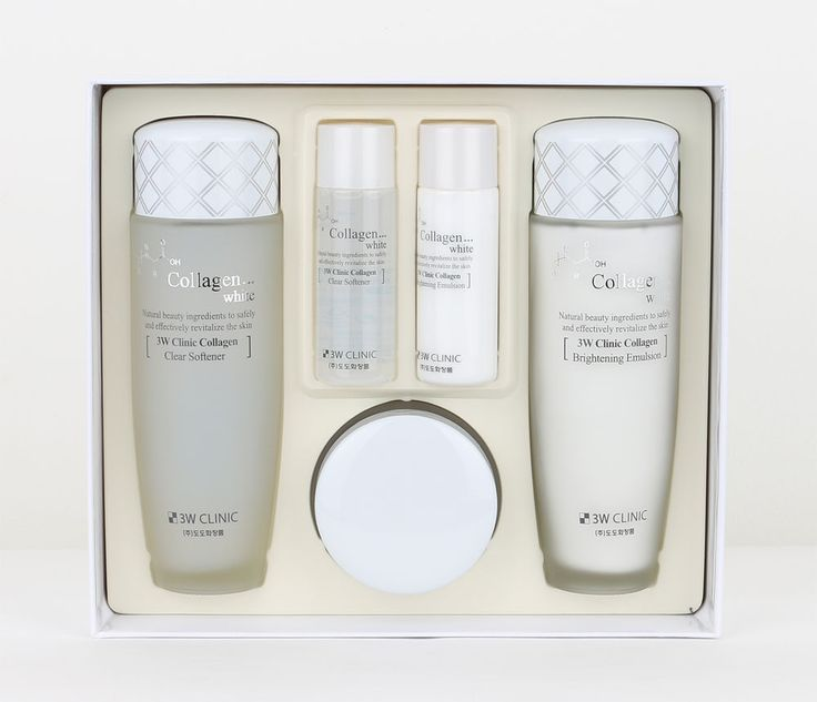 3W CLINIC Collagen white set Collagen/ Natural ingredients korean beauty #3WCLINIC