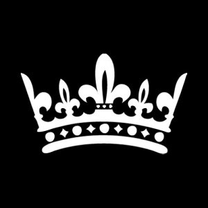 Decal Sticker King Crown | Soild color decals | Pinterest ...