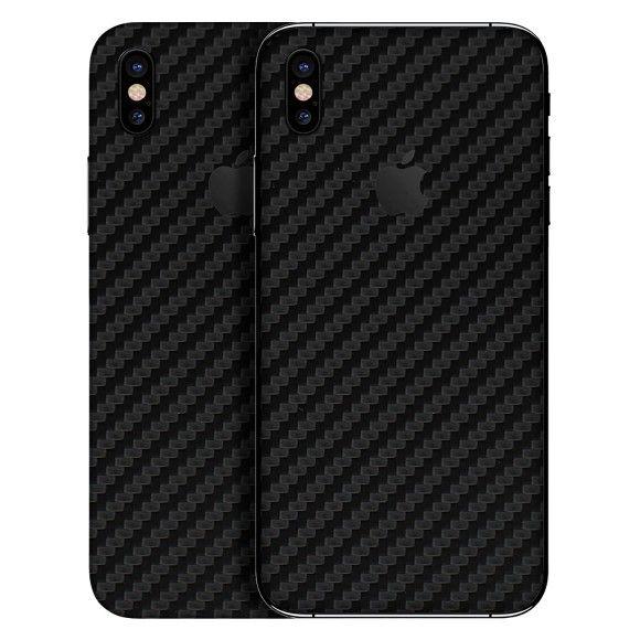 Carbon fiber wraps skins for iphone x  a85b310295772