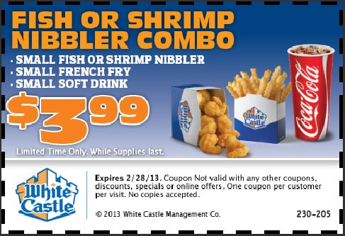 white castle on valentine's day