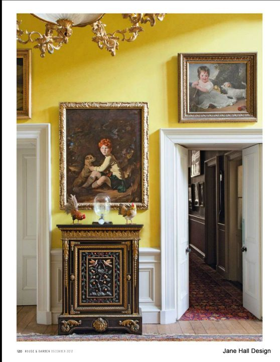 Historical 17th Century Hallway In English Country Manor