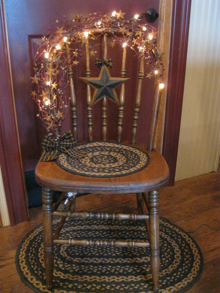 Chair..do this with my antique high chair......B