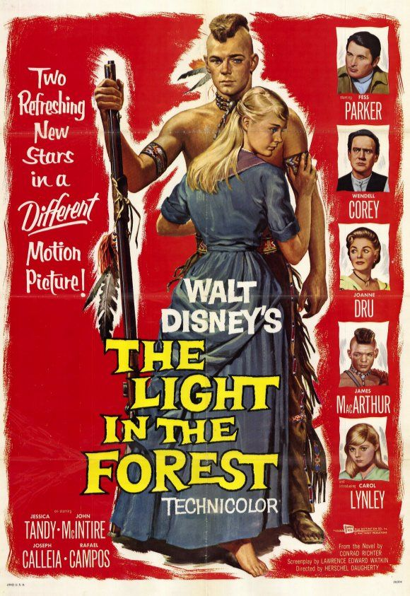 Disney released a new film in 1958, The Light In the Forrest starring Fess Parker in yet another Disney role along with Wendel Corey, James MacArthur and Carol Lynley - it was her first film. Everyone was getting eager for the next year Disney release we all heard was coming, the animated Cinderella.