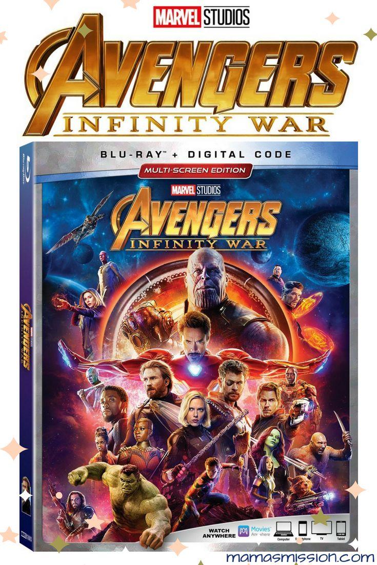 Enter To Win The Marvel Avengers Infinity War Blu Ray Giveaway Ends 8 14 Avengers Infinity War Avengers Infinity War