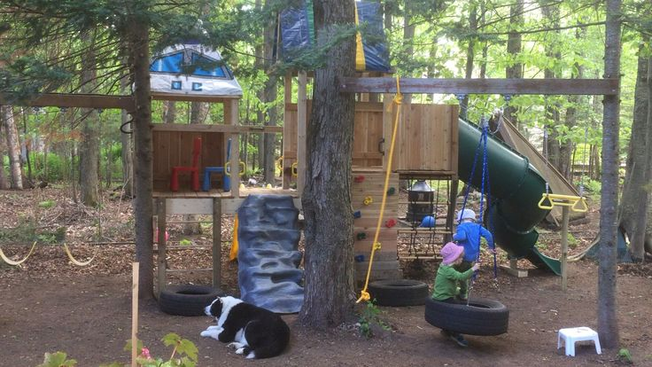 60 best images about outdoor play on pinterest playhouse for Tire play structure