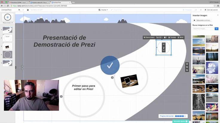 Tutorial herramienta Prezi en Español
