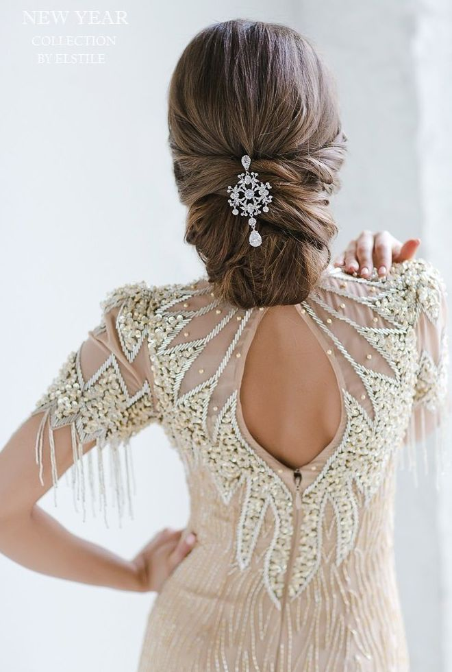 Bridal Hairstyle With Rose : 1032 best ***bridal hairstyles and accessories part 2 images on