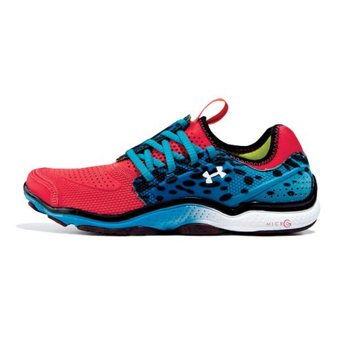 This Under Armour running sneaker fits like a glove. 6 more awesome cross-trainers: http://www.womenshealthmag.com/style/cross-trainers