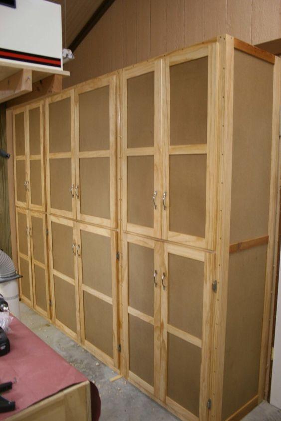 Storage Cabinets Diy Storage Cabinets Garage Storage