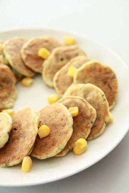 """Un """"Flo"""" de bonnes choses » Galettes au maïs & à la coriandre pour l'apéro"""