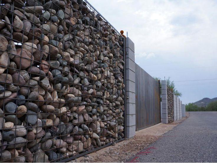381 best gabion wall ideas images on pinterest gabion for Gabions phoenix