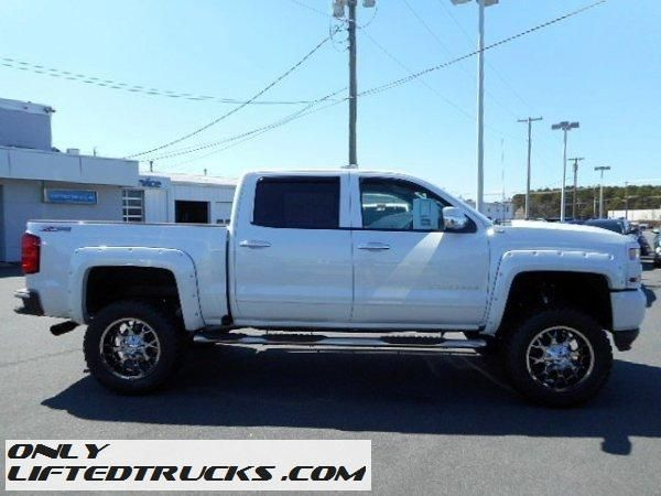 Lifted 2015 Chevrolet Silverado 1500 Ltz 4x4 Northwest