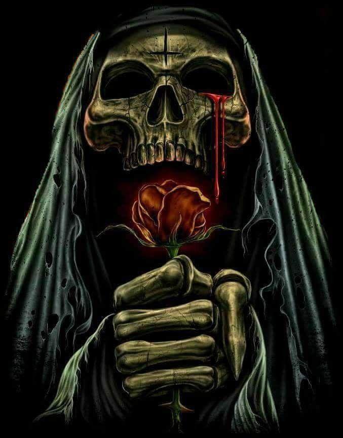 Gary Mosher Adli Kullanicinin Skulls Grim Reapers Etc Panosundaki Pin