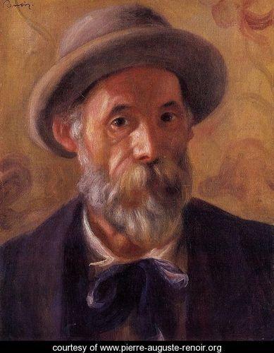 RenoirSelfportrait, Favorite Artists, 1841 1919, 1899, Self Portraits, Impressionist, Pierre August Renoir, Pierreaugust Renoir, Oil Painting