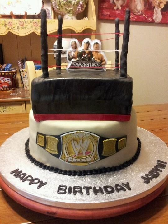 wwe birthday cakes