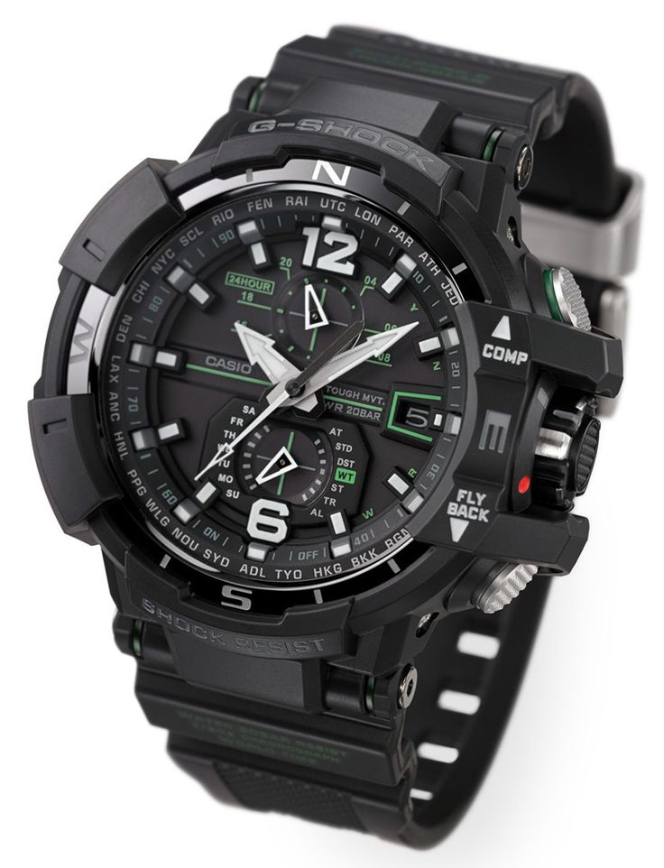 Baselworld 2013: Casio's Newest G-Shock Gravity Defier Aviator Watches
