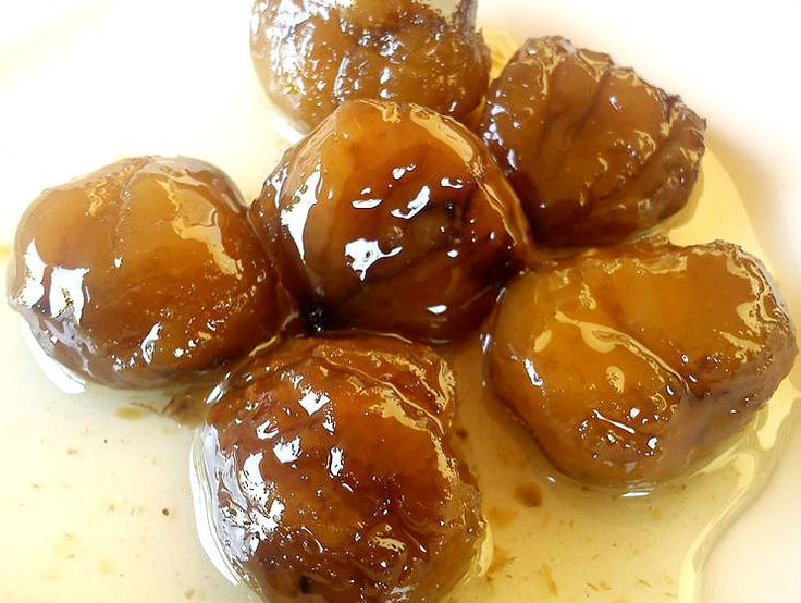 Chestnut syroup sweet ~ Γλυκό του κουταλιού κάστανο