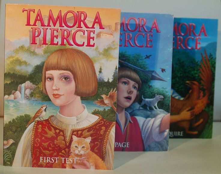 Protector of the Small series by Tamora Pierce book 1-3