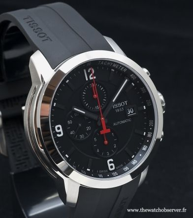 Affordable chronograph Tissot watch PRC 200 Automatic
