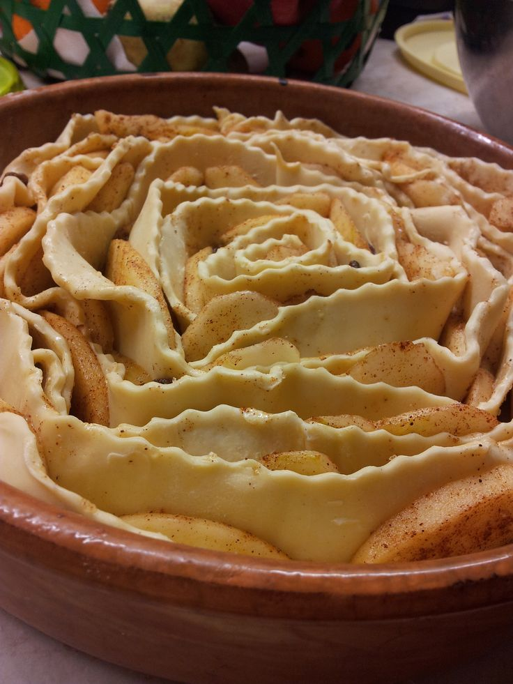 Very easy, but impressive apple-pie!