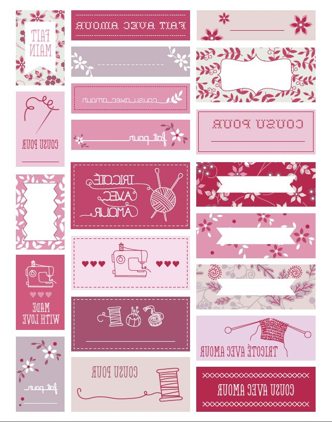 17 best images about etiquettes imprimer on pinterest - Etiquette prenom a imprimer ...