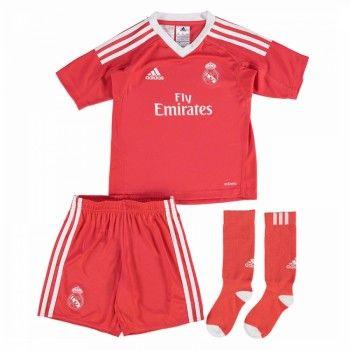 Real Madrid Målvakt kläder Barn 17-18 Bortatröja Kortärmad  #Billiga #fotbollströjor