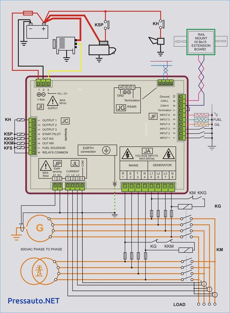Unique Wiring Diagram Backup Generator