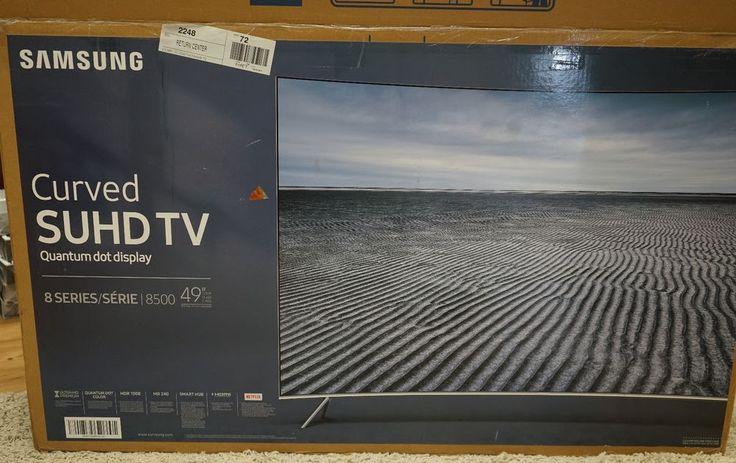 Samsung 8 Series UN49KS8500 49-inch Class Curved 4K SUHD TV - 3840 x 2160 - 240