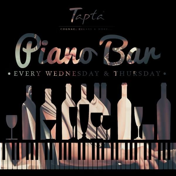 Piano Bar at Tapta - Evenimente in Oradea http://www.evenimenteinoradea.ro/distractie/46-happenings/631-piano-bar-at-tapta
