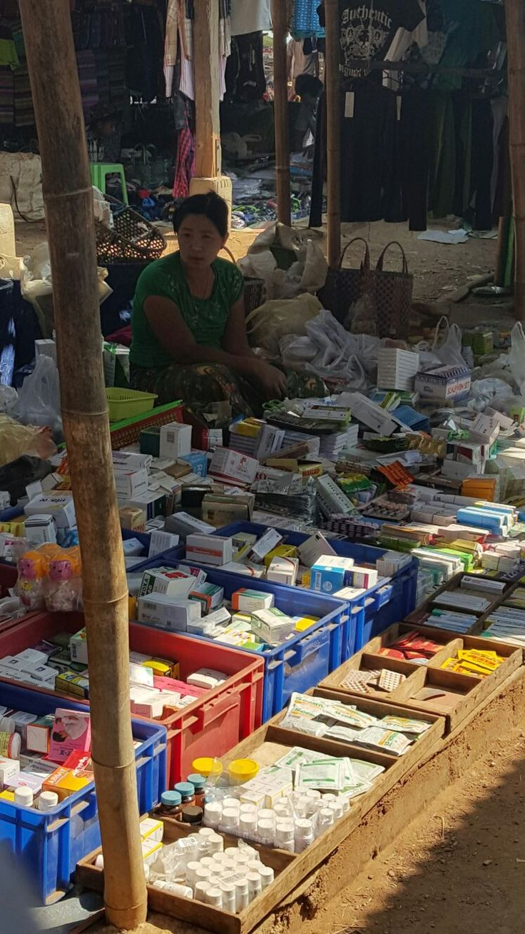 Burma, Apotheke