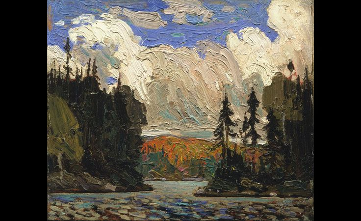 Tom Thomson (1877 - 1917), Black Spruce in Autumn, 1915